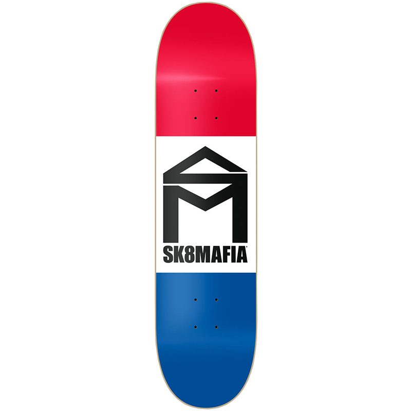 Sk8Mafia House Logo 3 Frame Skateboard Deck 8.25