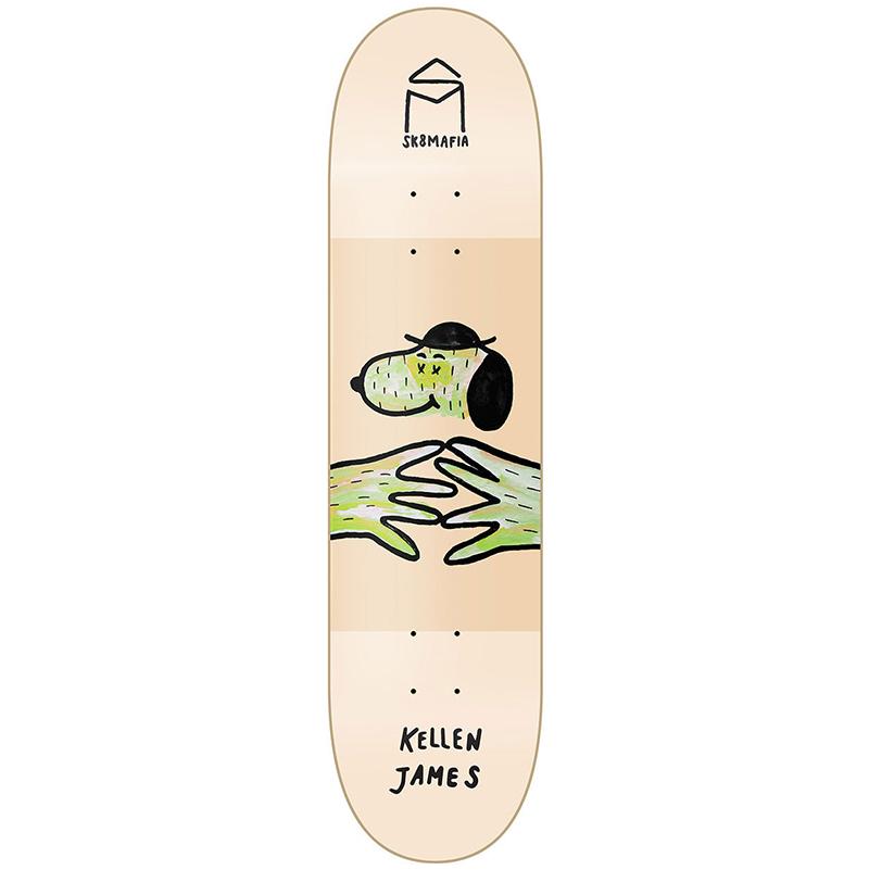 Sk8Mafia James LB x SM Skateboard Deck 8.0