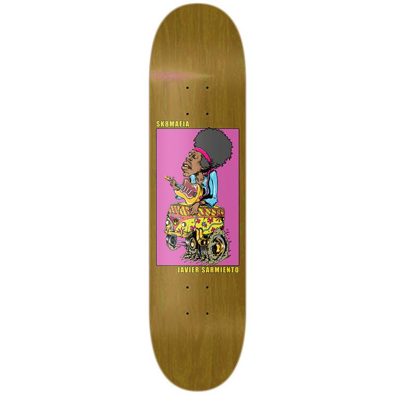 Sk8mafia Javier Sarmiento Legends II Skateboard Deck 7.8