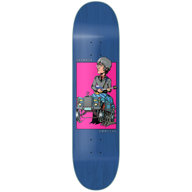 Sk8mafia Jimmy Cao Legends II Skateboard Deck 8.0