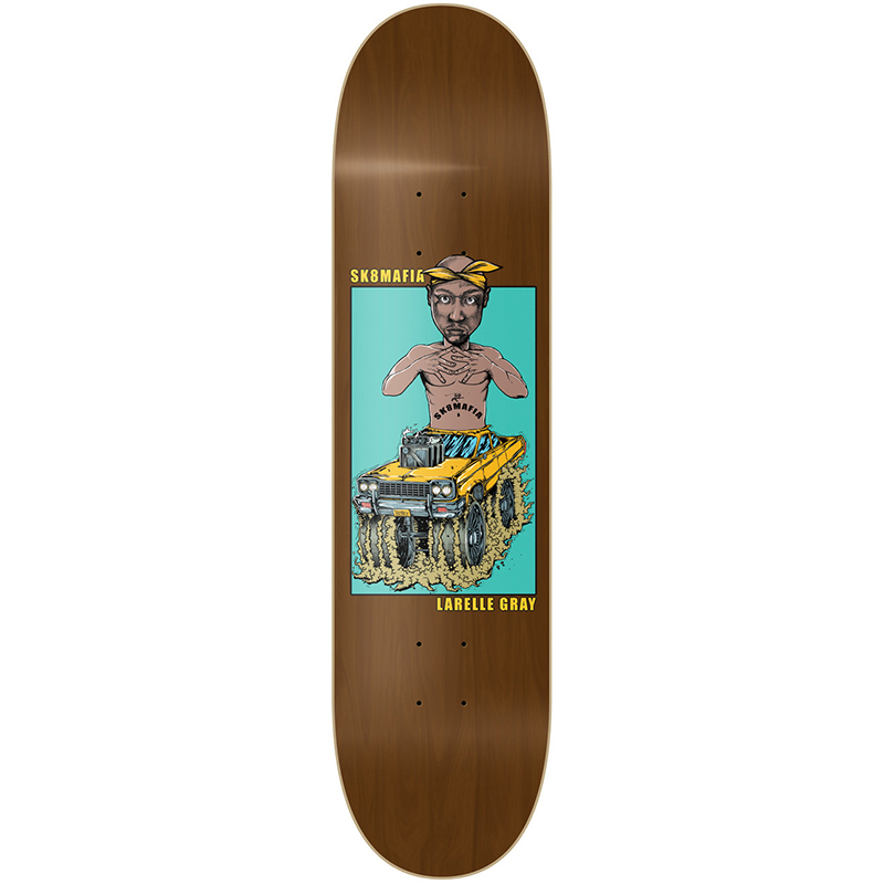 Sk8mafia Larelle Gray Legends II Skateboard Deck 8.25