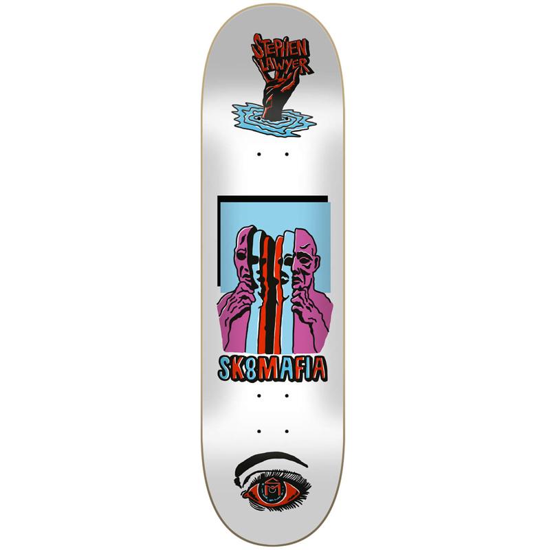 Sk8Mafia Stephen Lawyer Ward Skateboard Deck 8.25