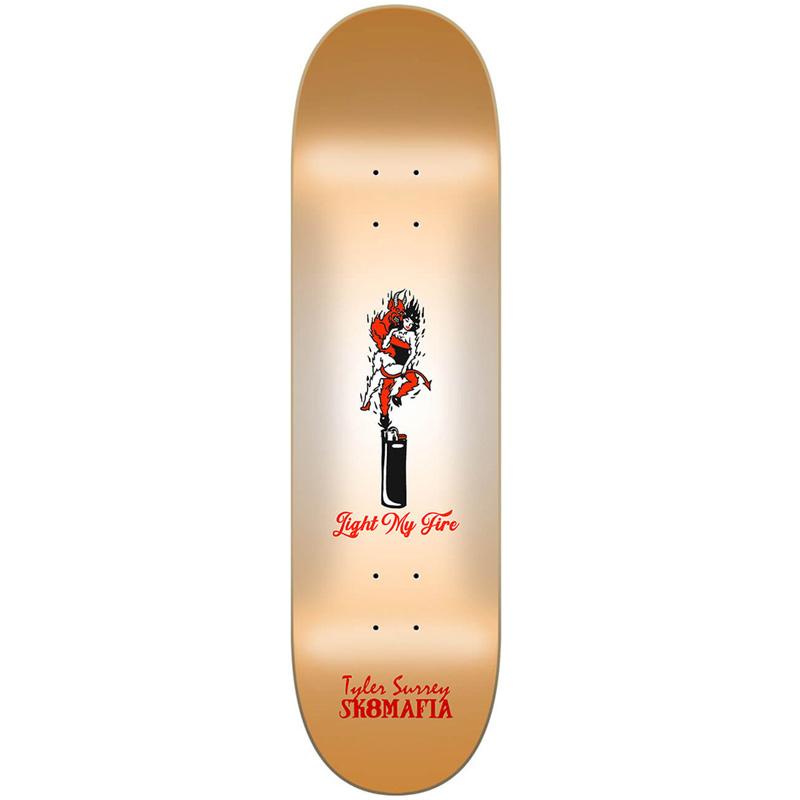 Sk8mafia Surrey Tatter Skateboard Deck 8.25