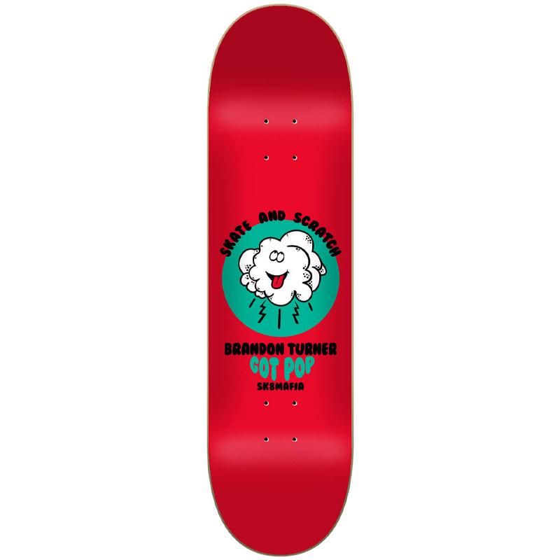 Sk8mafia Turner Skate And Scratch Skateboard Deck 8.25