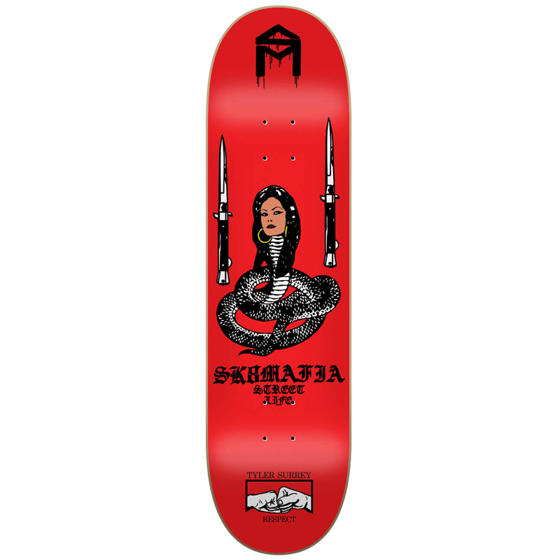 Sk8Mafia Tyler Surey Street Life Skateboard Deck 8.1