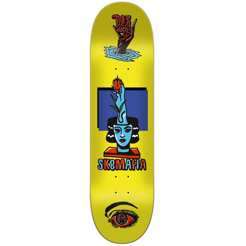 Sk8Mafia Tyler Surey Ward Skateboard Deck 8.3