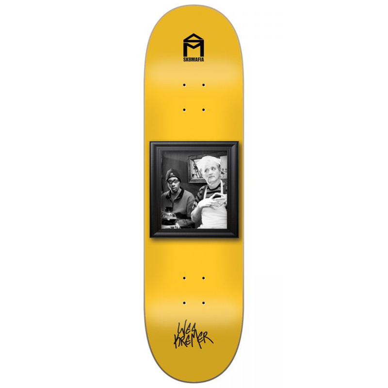 Sk8Mafia Wes Kremer Wall Bangers Skateboard Deck 8.25