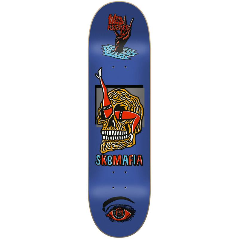 Sk8Mafia Wes Kremer Ward Skateboard Deck 8.0