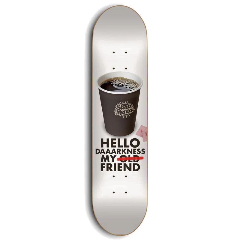 Skate Mental Bramsmark My Friend Skateboard Deck 8.25