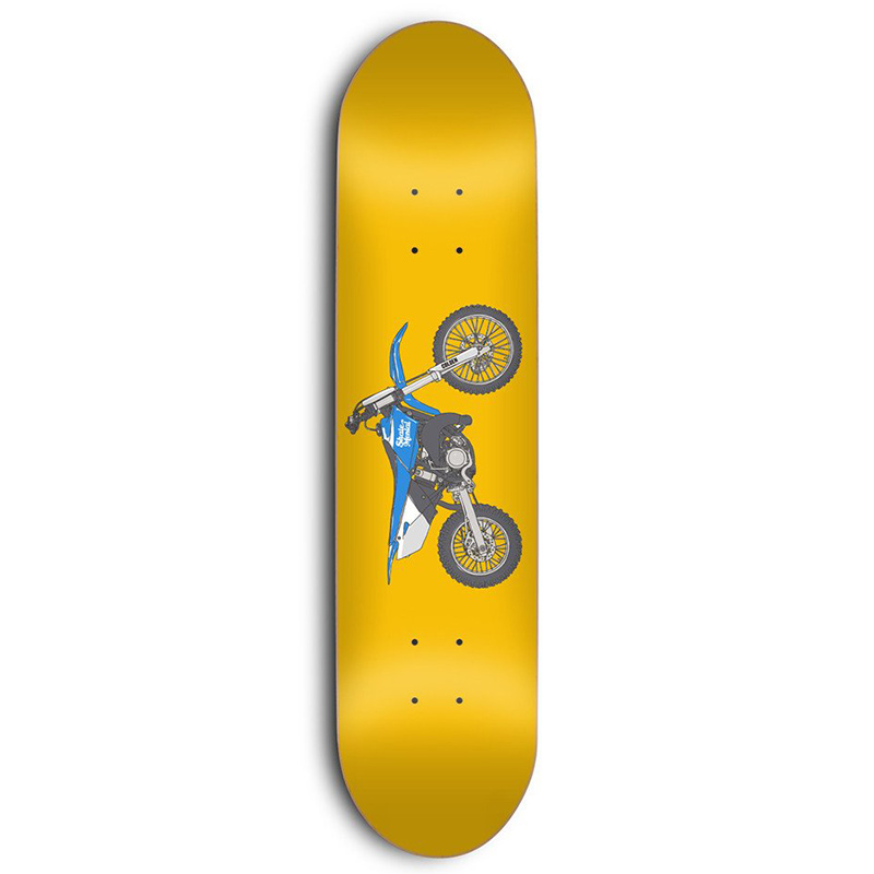 Skate Mental Colden Dirtbike Skateboard Deck 8.25