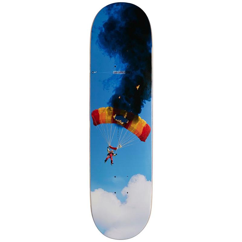 Skate Mental Curren Caples Crash & Burn Skateboard Deck 8.25