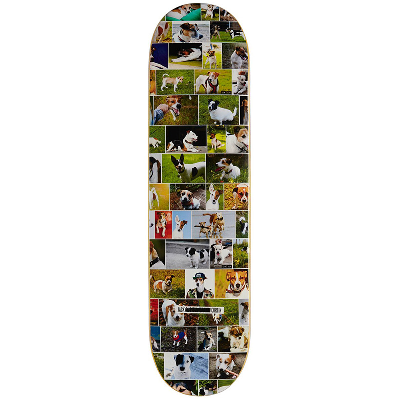 Skate Mental Curtin Dogs Skateboard Deck 8.0