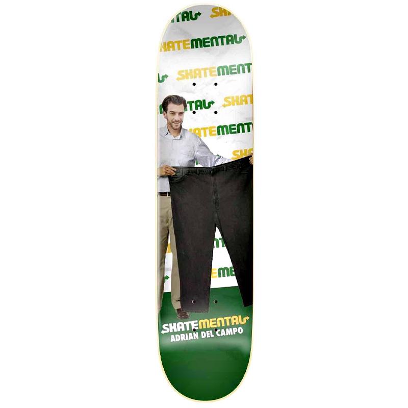 Skate Mental Delpantso Skateboard Deck 8.0