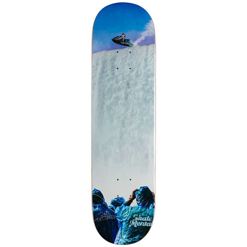 Skate Mental Jake Anderson Only One Way To Find Out Skateboard Deck 8.25