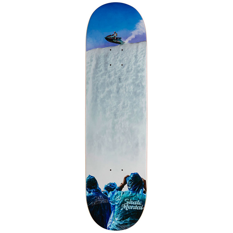 Skate Mental Jake Anderson Only One Way To Find Out Skateboard Deck 8.625