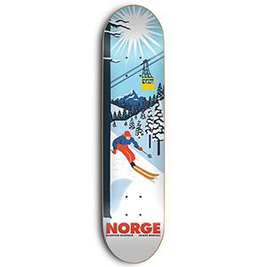 Skate Mental Karsten Kleppan Norge Skateboard Deck 8.375