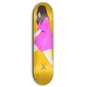 Skate Mental Kleppan Nevedova Skateboard Deck 8.375