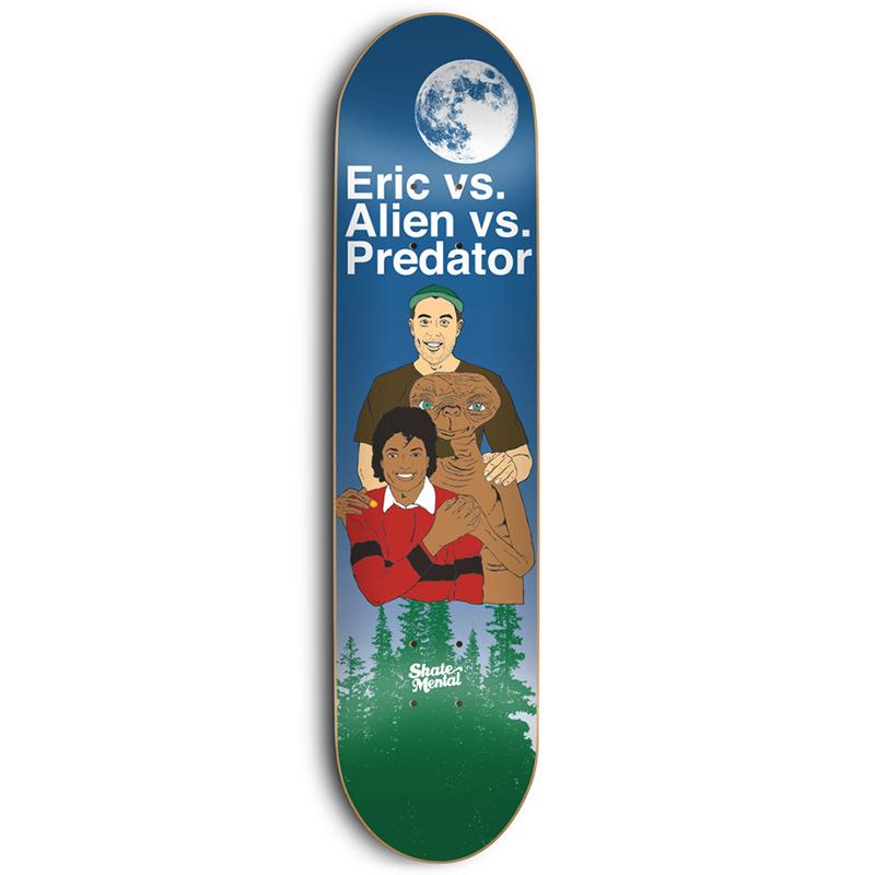 Skate Mental Koston EVAVP Skateboard Deck 8.25