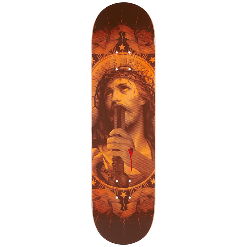 Skate Mental Oh My Lord Skateboard Deck 8.125