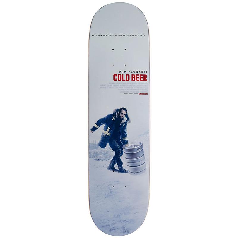 Skate Mental Plunkett Beer Skateboard Deck 8.25