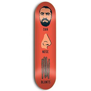 Skate Mental Plunkett Dan Knows Blunts Skateboard Deck 8.25