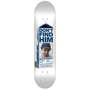 Skate Mental Plunkett Missing Skateboard Deck 8.125