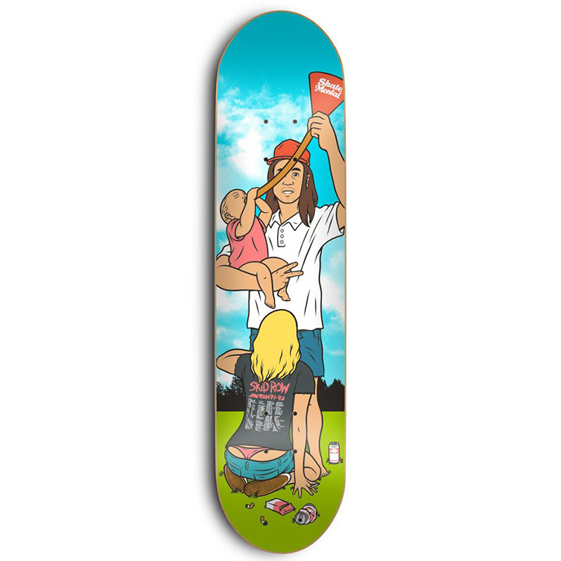 Skate Mental Staba SMD Skateboard Deck 8.25