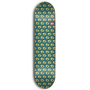 Skate Mental Tom K Avocado Skateboard Deck Assorted Veneers 8.0