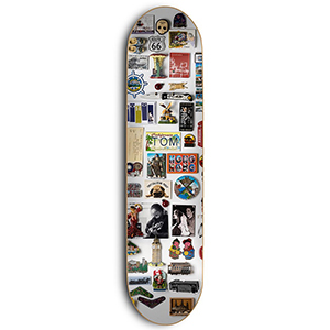 Skate Mental Tom K Magnets Tom K Skateboard Deck 8.375
