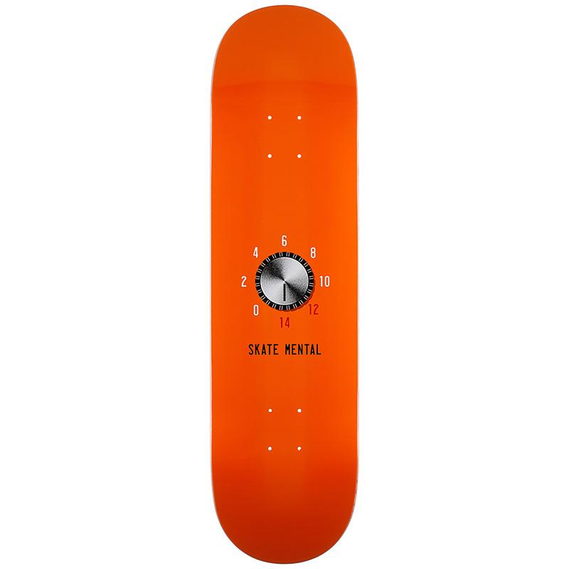 Skate Mental Turn Up Skateboard Deck 8.25