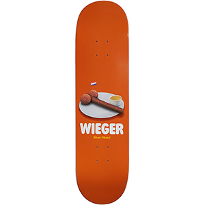 Skate Mental Wieger Bitter Balls Skateboard Deck 8.25