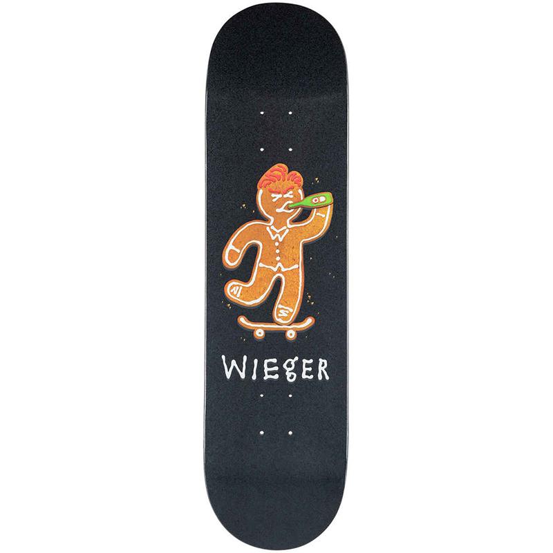Skate Mental Wieger Ginger Bread Skateboard Deck 8.25