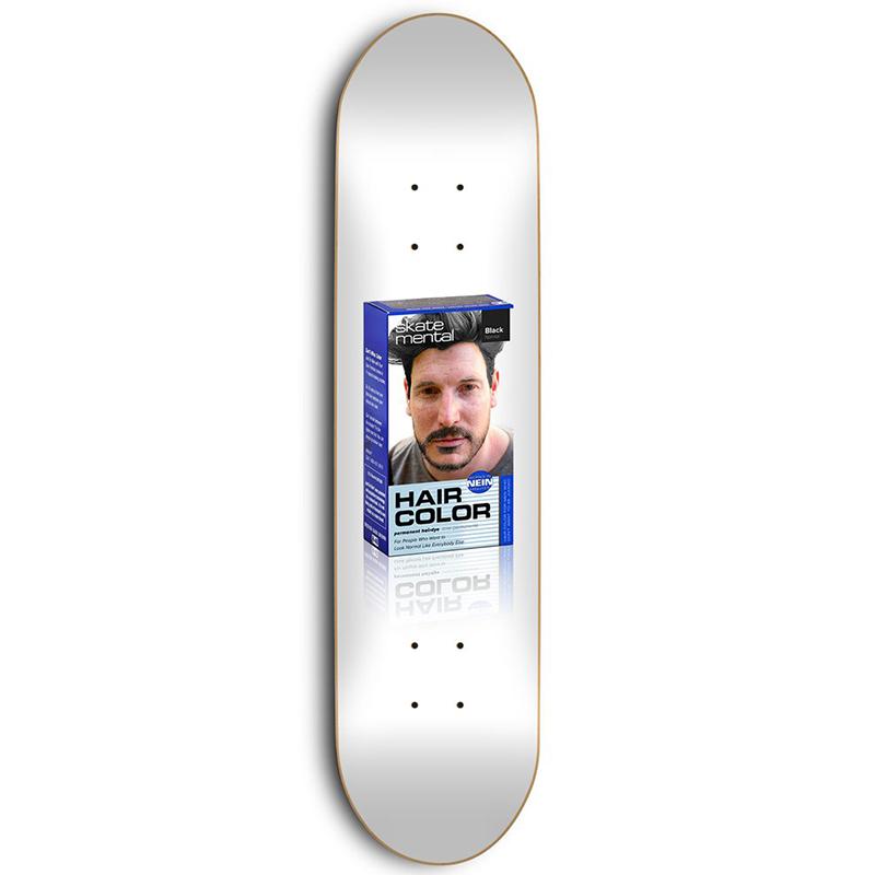 Skate Mental Wieger Hairdye Skateboard Deck 8.5