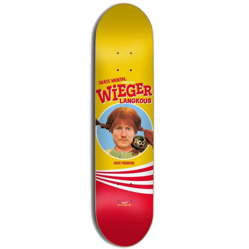 Skate Mental Wieger Langkous Skateboard Deck 8.125