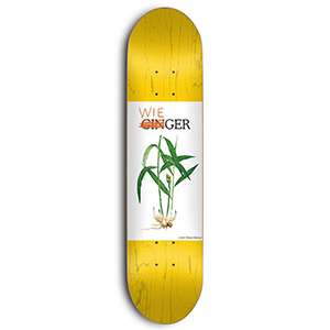 Skate Mental Wieger Van Wageningen Ginger Skateboard Deck Assorted Veneers 8.0
