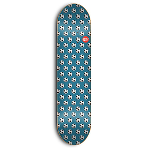 Skate Mental Wieger Van Wageningen Soccer Skateboard Deck Assorted Veneers 8.0