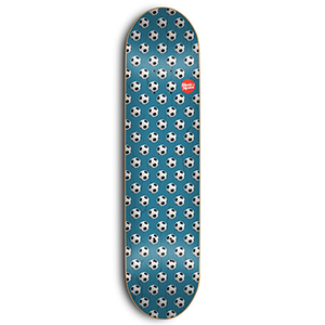 Skate Mental Wieger Van Wageningen Soccer Skateboard Deck Assorted Veneers 8.25