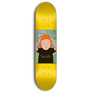 Skate Mental Wieger Van Wageningen Stuart Skateboard Deck Assorted Veneers 8.06