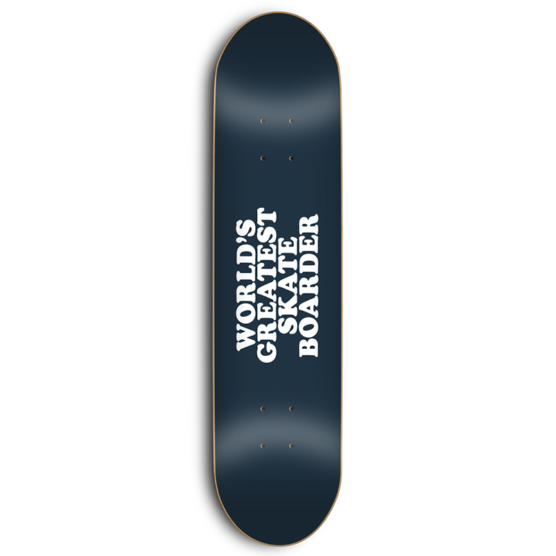 Skate Mental Worlds Greatest Skateboarder Skateboard Deck 8.25