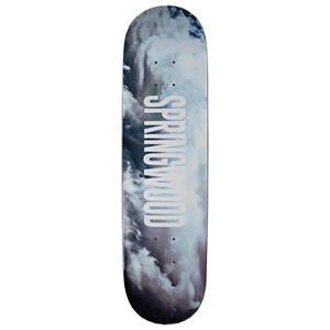 Springwood Clouds Skateboard Deck 7.75