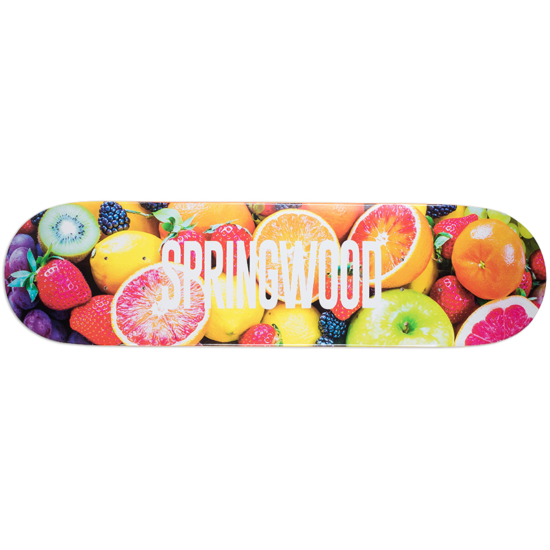 Springwood Fruit Punch Skateboard Deck 8.0