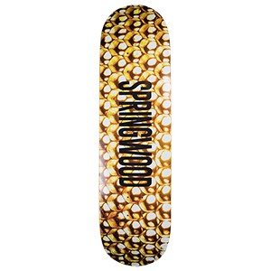 Springwood Honey Comb Skateboard Deck 8.25