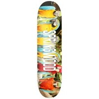 Springwood Parrot Posse Orange Skateboard Deck 7.875