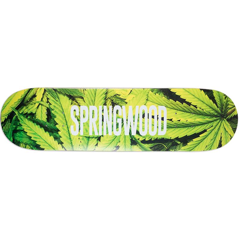 Springwood Plantlife 2 Skateboard Deck 8.0