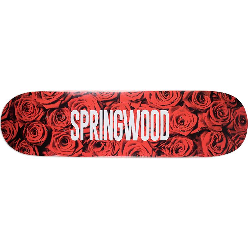 Springwood Red Roses Skateboard Deck 8.25
