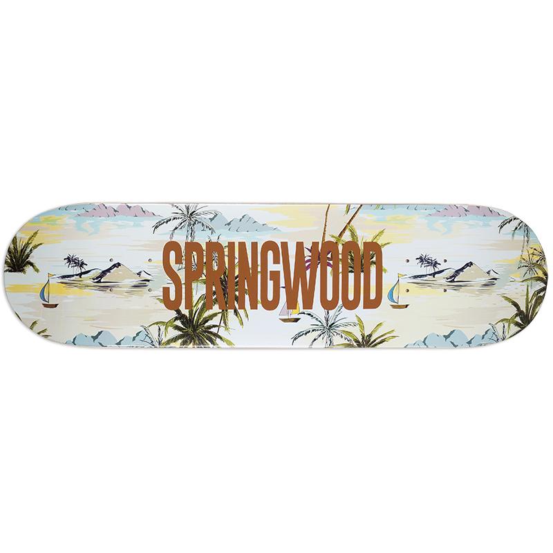 Springwood Sail Away Skateboard Deck 8.0