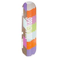 Springwood Wavy Skateboard Deck 8.125