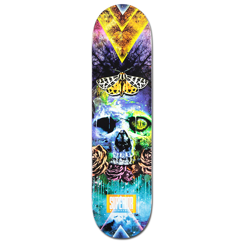 Superior Earth Multi Skateboard Deck 8.0