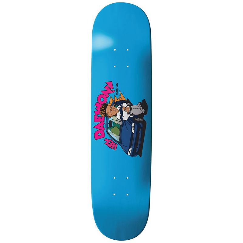 Thank You Daewon Song Acura Skateboard Deck Blue 8.0