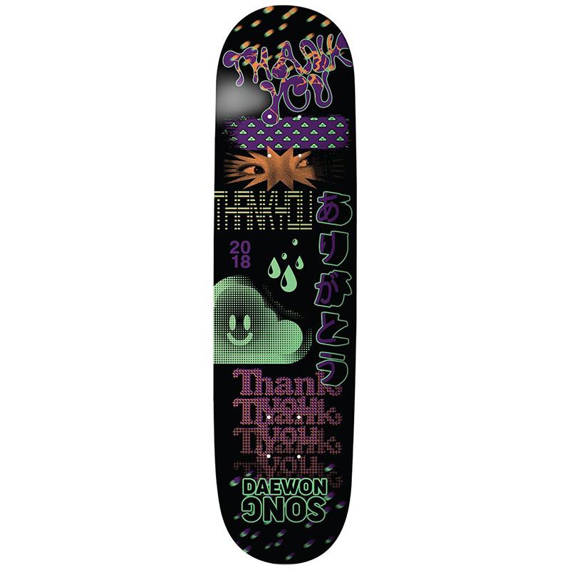 Thank You Daewon Song Fly Skateboard Deck Multi 8.25
